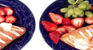 Pastry Strawberries