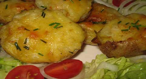 Karen's' Veggie Potato Boats