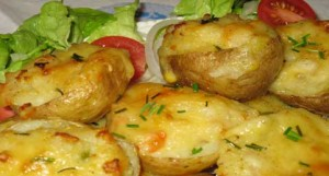 Karen's Veggie Potato Boats