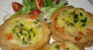 Karen's Veggie Vol-Au-Vents