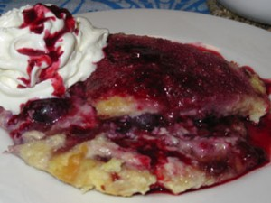 Karens Very Berry Bread n Butter Pudding