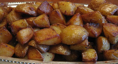 Karens Fried Swiss Potatoes