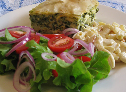 Karens Spanakopita (Spinach & Feta) Greek Pie
