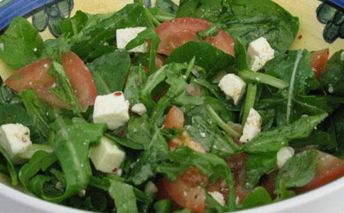 Karens Oh-So-Easy Feta-Chilli Salad