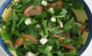 Karens Oh-So-Easy Feta-Chilli Salad