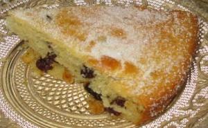 Karens Coconut Sultana Cake