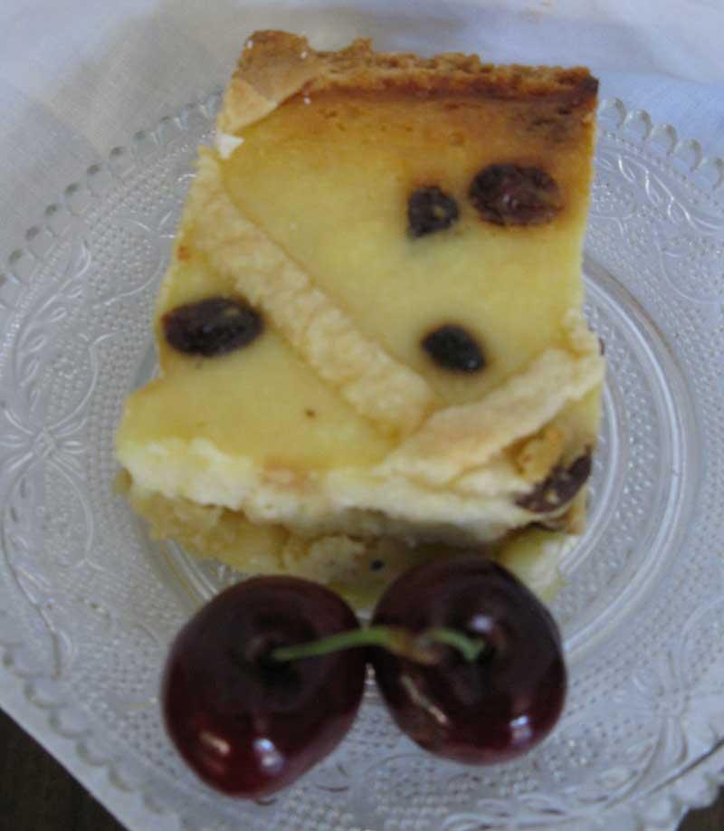 Karen's Apple Crostata Slices - Serving Suggestion